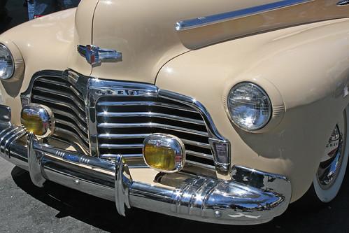 Vintage Car with Chrome