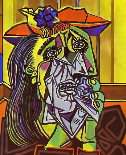 picasso weeping -1937 (secondo me)