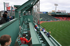 Green Monster Seats (BennyPix) Tags: trip vacation urban copyright toronto cold building sports rain boston skyline architecture canon geotagged ma eos downtown cityscape baseball cloudy stadium massachusetts sox © redsox newengland overcast seats april bluejays 1912 fenway day4 2008 graysky greenmonster allrightsreserved mapped mlb 30d bosox unauthorizeduseprohibited unauthorizedusestrictlyprohibited allcommercialuseprohibited