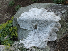Wedding Cape on Rock