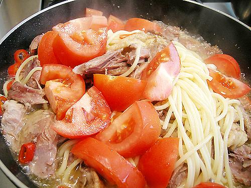 番茄油封鴨 Spaghetti-080721