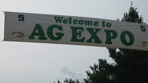 Michigan- Ag Expo Sign
