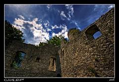 Castle ruin Werdenfels (Klaus_GAP™ - taking a timeout) Tags: blue sky geotagged bavaria stones hdr garmischpartenkirchen whiteclouds castleruin werdenfelserland ruinewerdenfels ysplix theperfectphotographer burgruinewerdenfels skyascanvas