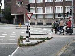 fietsers daar