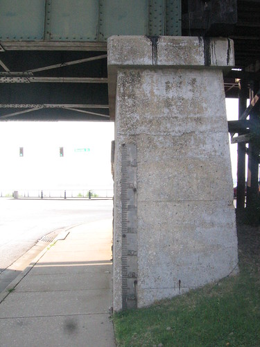 Mississippi River Gauge on Beale