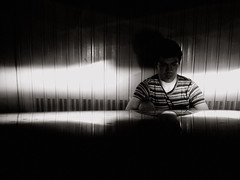 """""""Tutto quello che vorremo fare sar sederci, e pensare."""" (Paddino) Tags: auto light shadow blackandwhite bw selfportrait streets muro me night lights shadows autoportrait box garage ombra ombre io cello autoritratto luci choices strade notte luce biancoenero decisions violoncello scelte decisioni andreapalla paddino httpframmentisparsiwordpresscom frammentisparsi insottofondo asabackground"""
