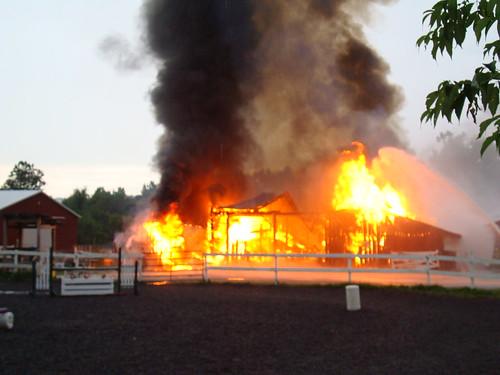 Bonnie Lea Farm Fire