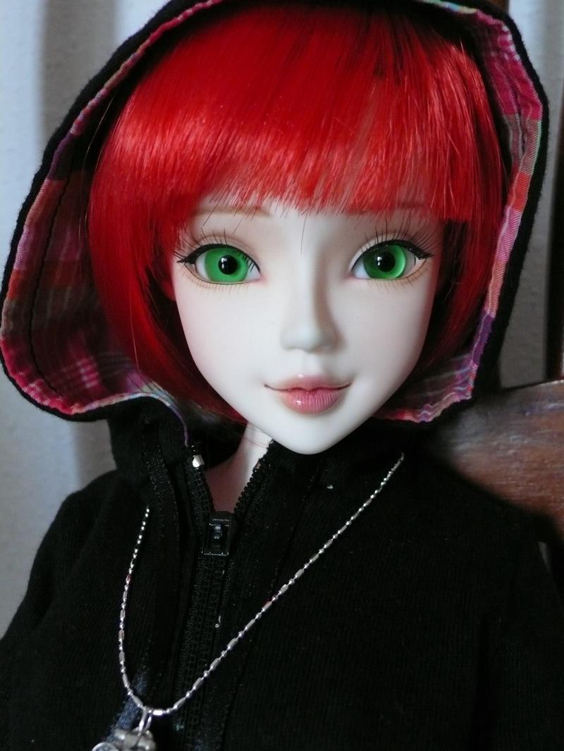 Nym y sus nuevos ojos close up