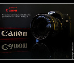 My new camera (Faisal | Photography) Tags: black canon eos you can 2008 faisal g9 40d platinumphoto