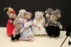 The Wedding Party (DJLDorset (Takin' a break for a while)) Tags: wool knitting crafts hobby dorset knitted woolen handknittedcharacters davidlongshaw