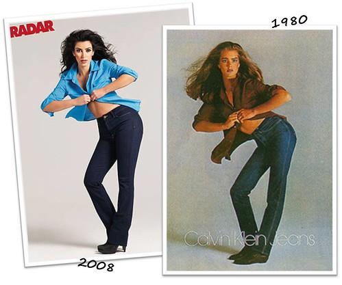 brooke shields calvin klein. Brooke Shields#39; 1980 Denim