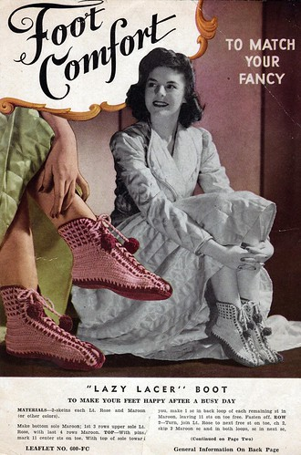 1940s Lily Mills Knitting 1