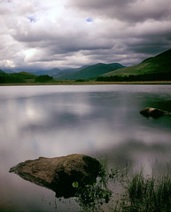 Loch Tulla, Glen Coe. (PcStumpy) Tags: lake film mediumformat river landscape scotland highlands pentax velvia glencoe loch 67 lochtulla tulla pcstumpy andymoss mossap stumpysnapz