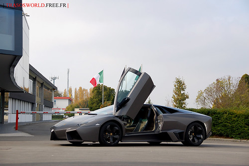 Lamborghini Reventon is alone ..