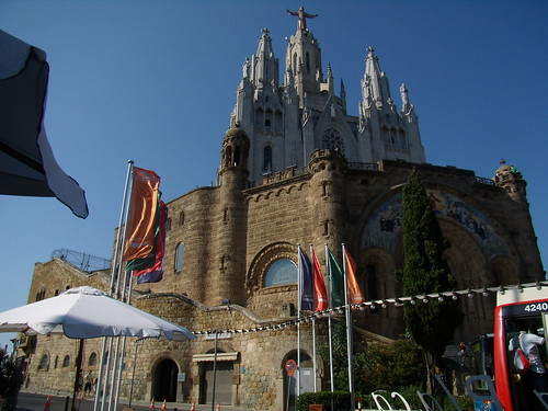 Iglesia del Sagrado Corazón / Iglesia del Sagrat Cor, Tibidabo, Barcellona