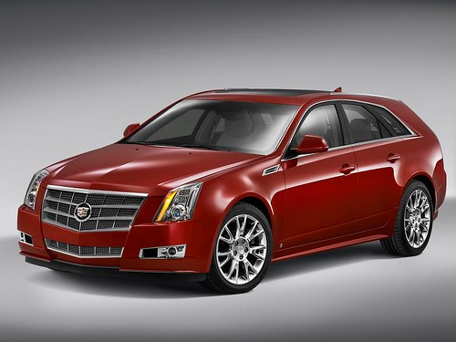 2010 Cadillac CTS Sport Wagon pictures