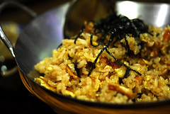 Fried Rice (eel & egg) - (DSC_1908)