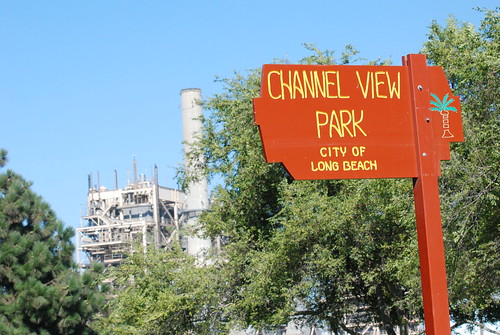Channel View Park and energy plant