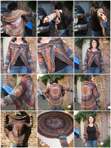 twisted float shrug mosaic