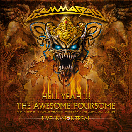 Gamma Ray   Hell Yeah The Awesome Foursome Live In Montreal Canada preview 0
