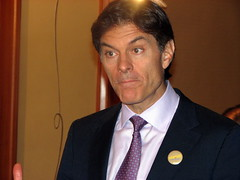 Dr. Oz at ServiceNation 2008