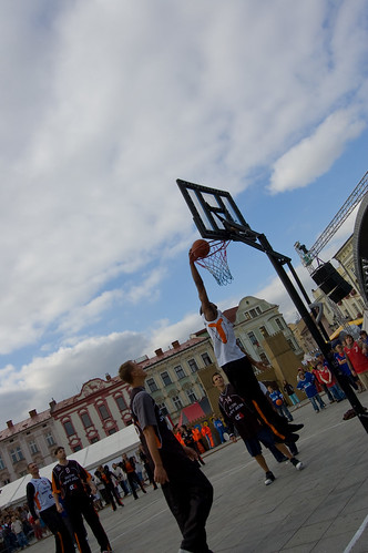 Streetball exhibice