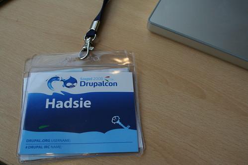 DrupalCon Lanyard