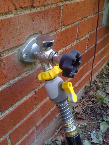New hose spigot