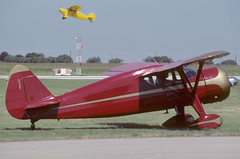 1939 Fairchild 24W-9 (twm1340) Tags: texas tx airshow jacobs 1985 fairchild denton 1939 eaa shakeyjake 24w9 r7557