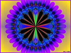 * PURPLE PETALS * (MONKEY50) Tags: blue abstract black color colour art colors yellow digital colours purple kaleidoscope mandala mauve fractal paintshoppro breathtaking kaleidoscopes mandalas colourartaward