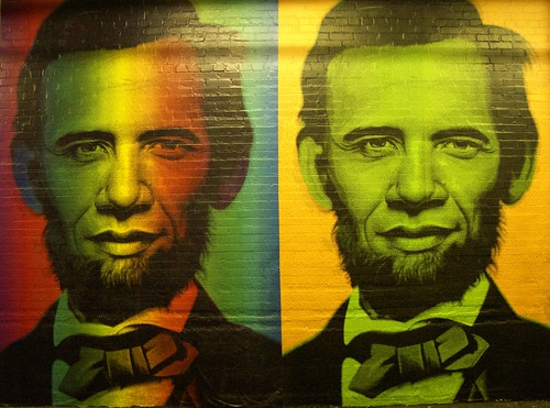 Obama/Lincoln by augfw.
