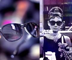 audrey's classic shades  (S) Tags: classic shades audrey elegant hepburn breakfastattiffanys