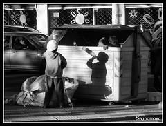 Todo va mejor con Coca Cola (fonzivil) Tags: white black blancoynegro uruguay blackwhite shadows homeless coke basura cocacola montevideo pobreza diadelpatrimonio fonziblog afonzi