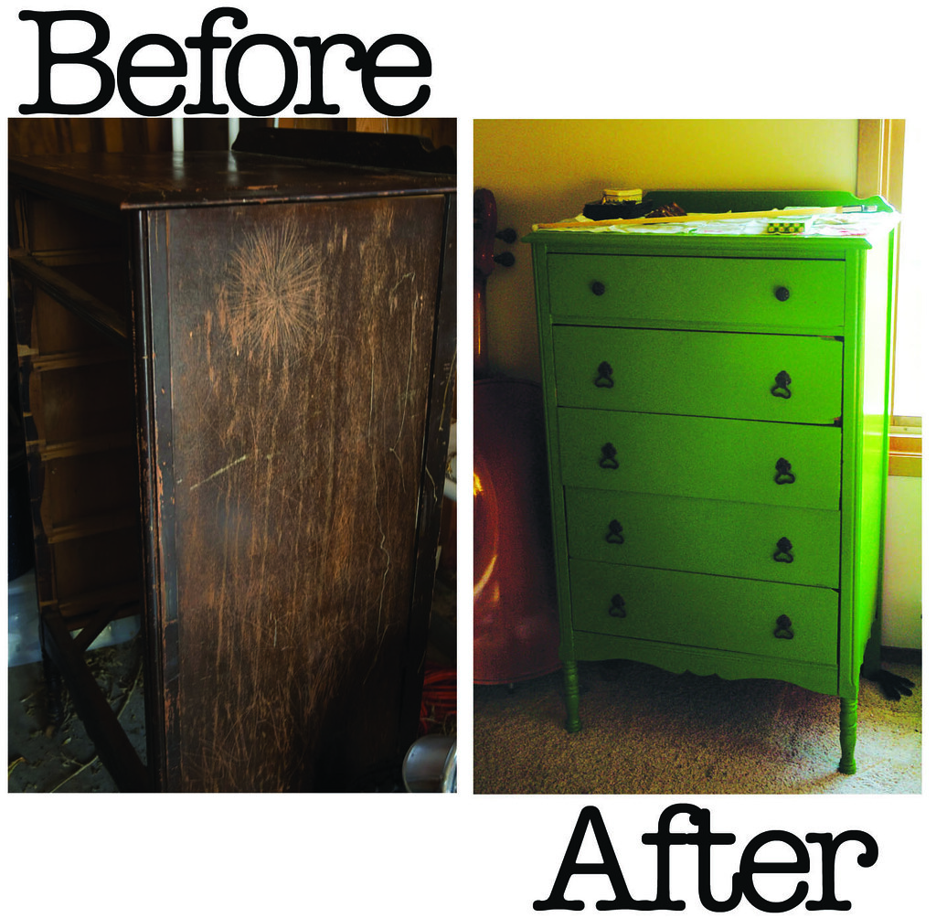 Dresser Redress - Before and After