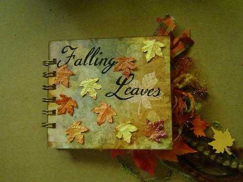 Falling Leaves chunky book