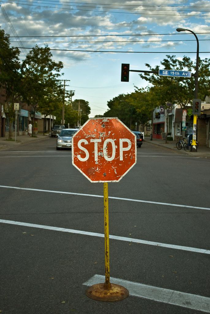 temporary stop
