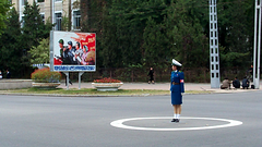 Pyongyang DPRK North Korea Traffic Girl Video (Ray Cunningham) Tags: winter summer ballet tourism girl beauty del video women uniform republic traffic control north police korea tourist peoples direction korean american autos roads crossroads democratic automobiles norte northkorea pyongyang core  corea dprk koryo     raycunningham raymondcunningham zaruka raymondkcunninghamjr raymondkcunninghamjr northkoreanphotography raycunninghamnorthkoreanphotography dprkphotography