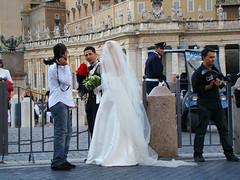 Vatican Wedding (SpY> ) Tags: wedding vatican italian police vaticano carabinieri polizia
