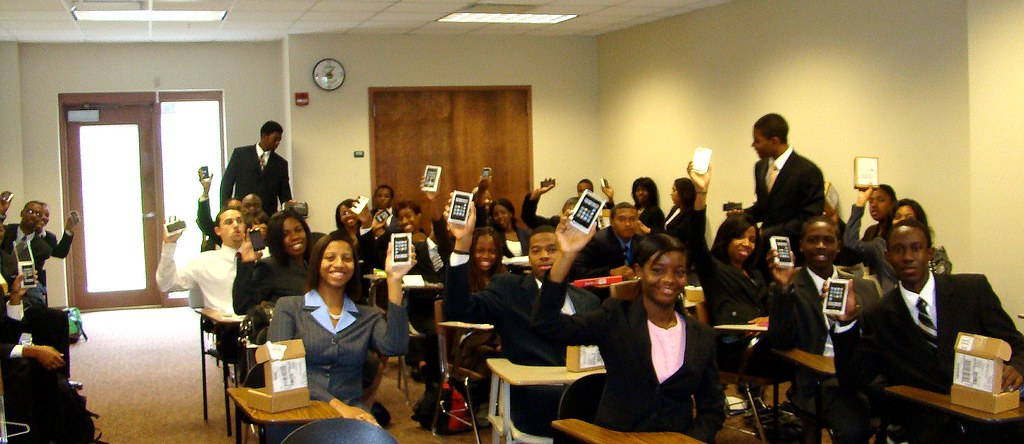 John Deere & Co. Gives SBI Students New iPods