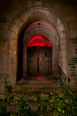 ...And Forgive Us Our Trespasses... (Noel Kerns) Tags: city abandoned church night ruins first indiana gary methodist