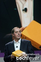 Intel Ceo Paul Otellini giving keynote speech at the Consumer Electronic Show CES 2006 by TechShowNetwork