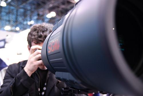 big f'n lens