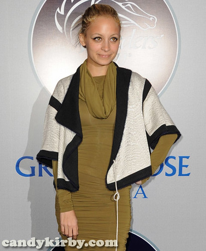 Nicole Richie at the 2008 Breeders' Cup Winners Circle Gala