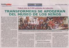 Ticobot anunciado en La Extra