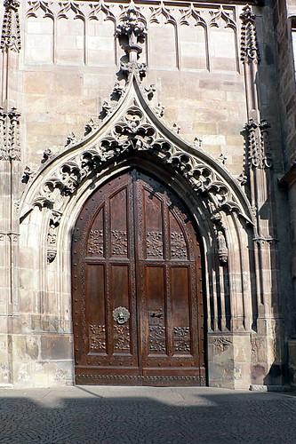 St. Nikolas Tür