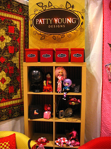 Patty Young's booth
