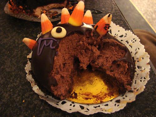 Inside Corrado's Halloween Porcupine