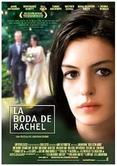 Póster La Boda de Rachel Jonathan Demme Anne Hathaway