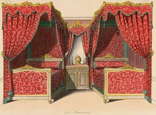 011-Camas gemelas estilo Renacimiento Rococo