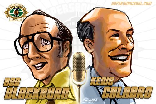 Bob Blackburn & Kevin Calabro